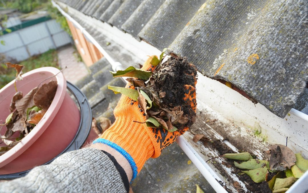 Clean the Gutters as Part of Routine Home Maintenance