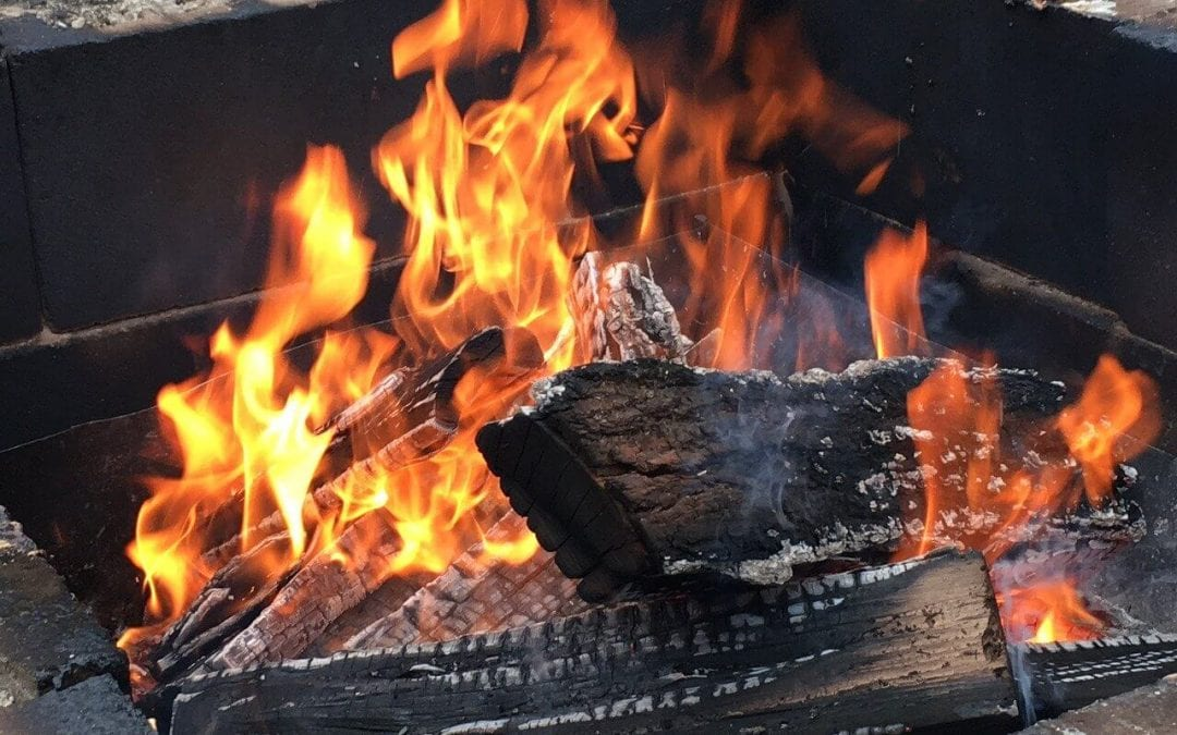 using your fire pit